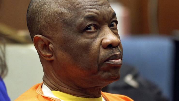 """Der unter dem Beinamen """"grauenvoller Schläfer"""" bekannt gewordene US-Serienmörder Lonnie David Franklin ist im Gefängnis gestorben. (Archiv)"""