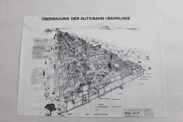 So könnte man eine Autobahn überbauen