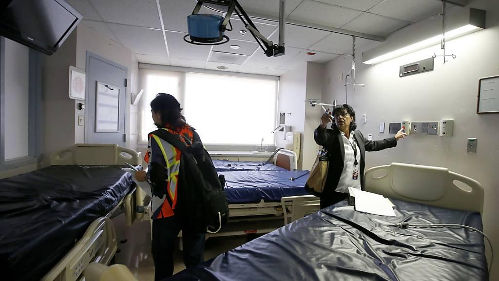 Zahl der Coronavirus-Toten steigt in den USA auf über 1000