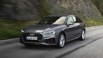 Audi A4 Avant. Bild: ho