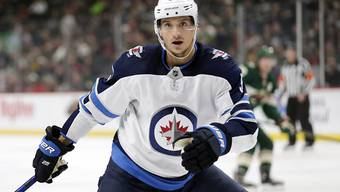 Luca Sbisa im Dress der Winnipeg Jets.