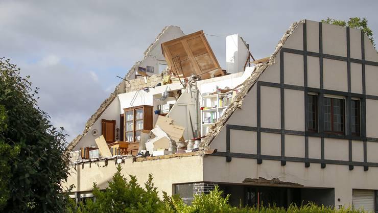 Ein Tornado fegte am Freitagabend über den südlichen Teil des Grossherzogtums hinweg...