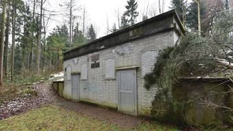Das bestehende Wasserreservoir Föhren in Schönenwerd wird abgerissen und durch ein Neues ersetzt