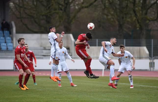 Die U21-Spieler müssen sich schnell an das Niveau in der Promotion-League gewöhnen.