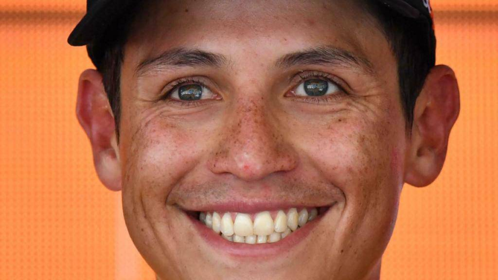 Jetzt kann Esteban Chaves wieder strahlen: Erstmals seit gut einem Jahr gewinnt er wieder ein Rennen