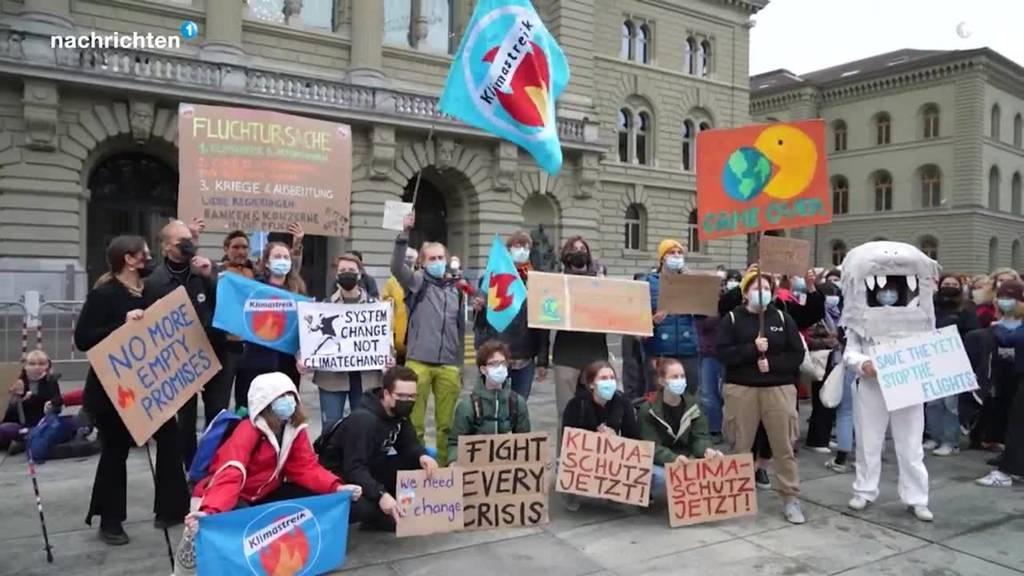 Klimastreik unter anderem in Bern