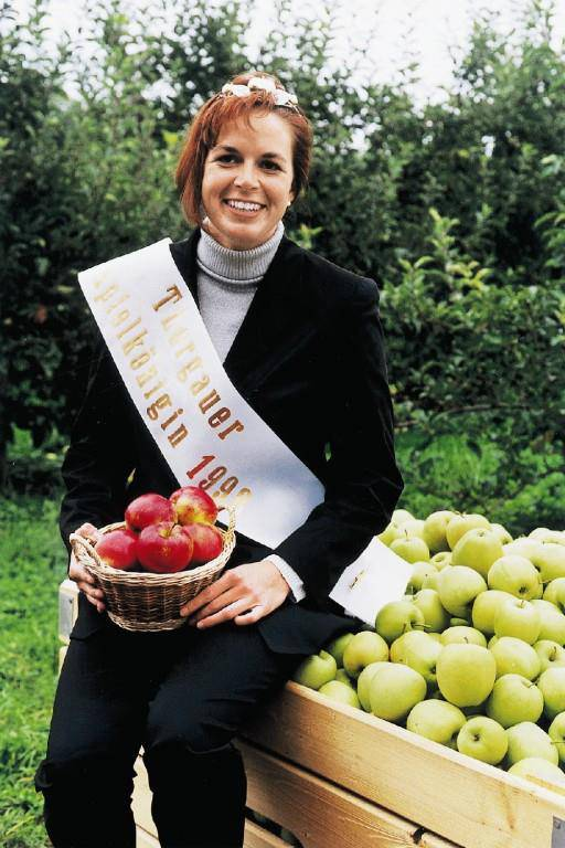 Apfelkönigin 1998 Sonja Schär