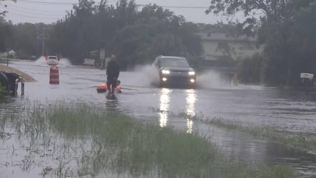 Gefährlicher Tropensturm «Eta» erreicht Florida