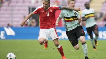 Die schönsten Fotos vom Testspiel zwischen der Schweiz und Belgien