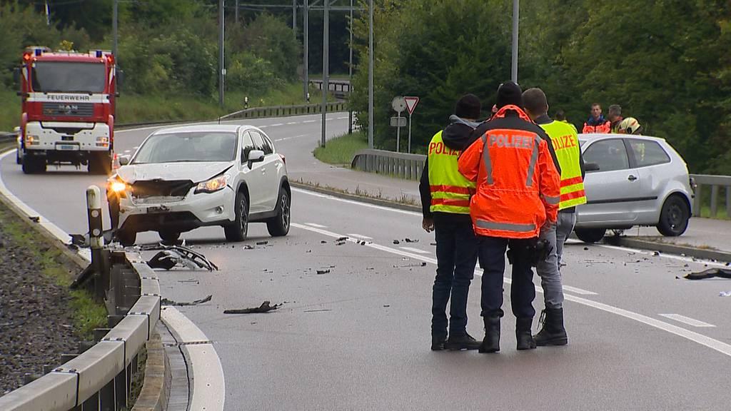 Verkehrsunfall zwischen Frauenfeld und Matzingen