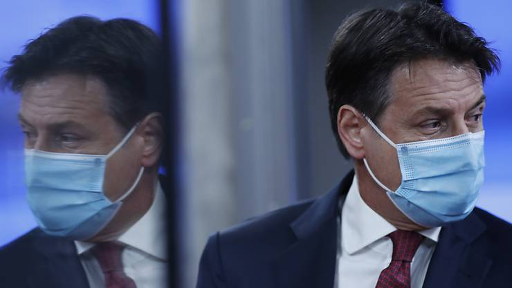 Italiens Ministerpräsident Giuseppe Conte. Foto: Francisco Seco/AP Pool/dpa