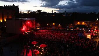 Das Open Air Basel findet dieses Jahr am 12. und 13. August auf dem Kasernenareal statt. (Archiv)