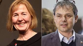 Die SP setzt auf ein Einerticket: Entweder wird die Partei mit Susanne Schaffner oder mit Philipp Hadorn an den Solothurner Regierungsratswahlen antreten.
