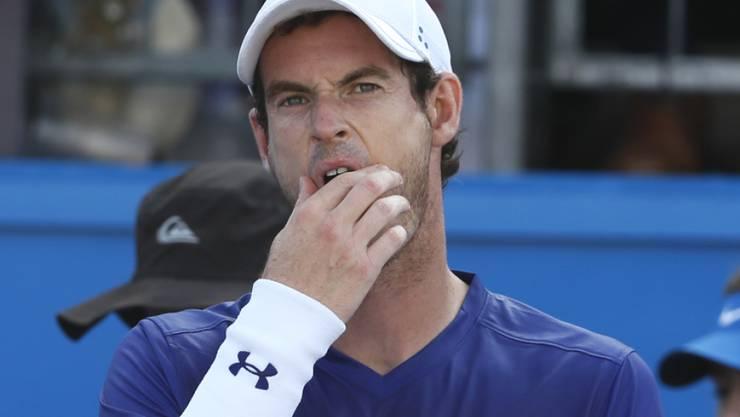 Wimbledon-Vorbereitung mit Problemen: Andy Murray
