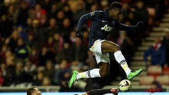 Nahm die Hürde Sunderland nur auf dem Bild: Manchester United
