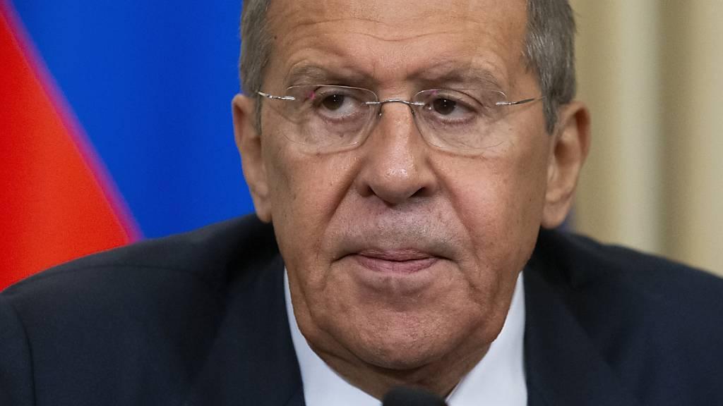 Der russische Aussenminister Sergey Lavrov geht auf die EU zu und bietet einen «Neustart» der Beziehungen an. (Archivbild)