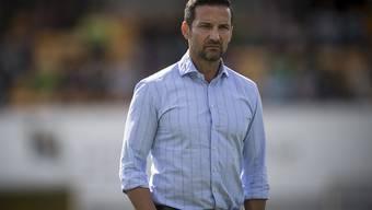 St. Gallens Trainer Joe Zinnbauer ist ratlos - 0:2 in Vaduz