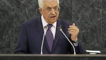 Palästinenserpräsident Abbas spricht in der UNO-Generaldebatte