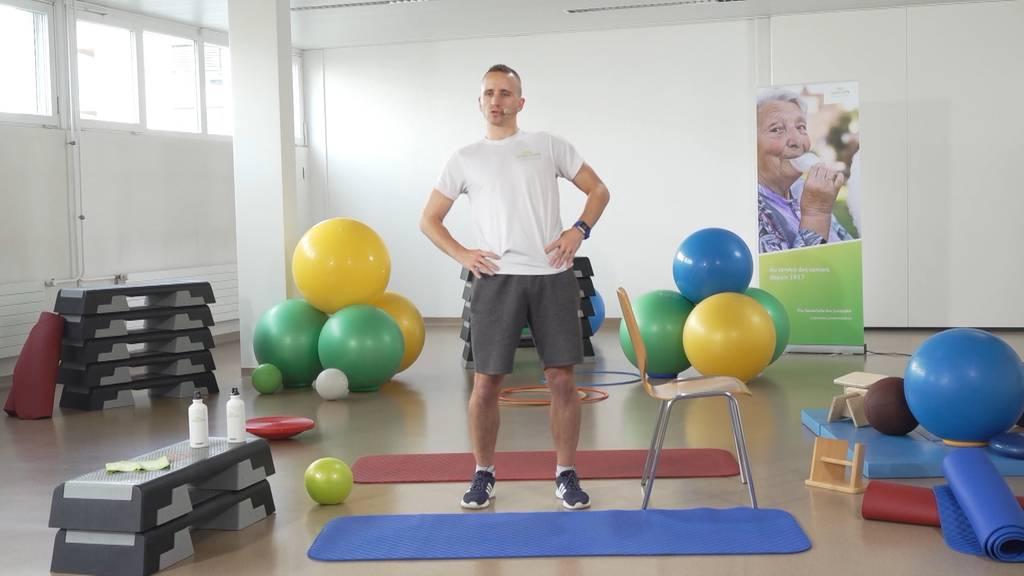 «Gymnastik im Wohnzimmer» vom 19. Februar 2021