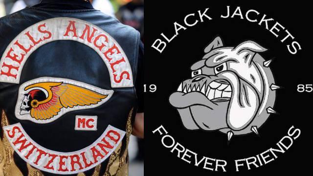 Hells Angels vs. Black Jackets