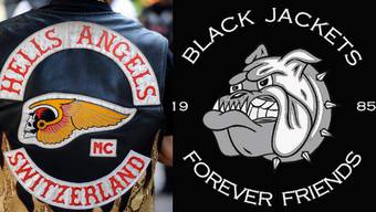 Hells Angels vs. Black Jackets