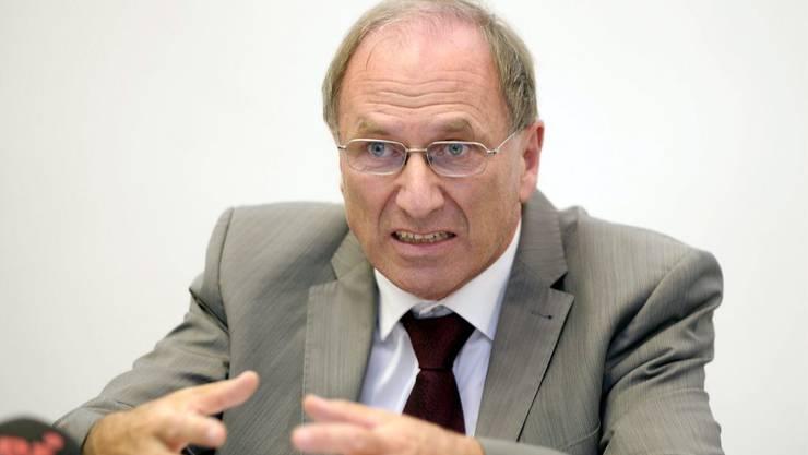 Martin Graf soll auch in der kommenden Legislaturperiode für die Grünen im Zürcher Regierungsrat sitzen. (Archiv)