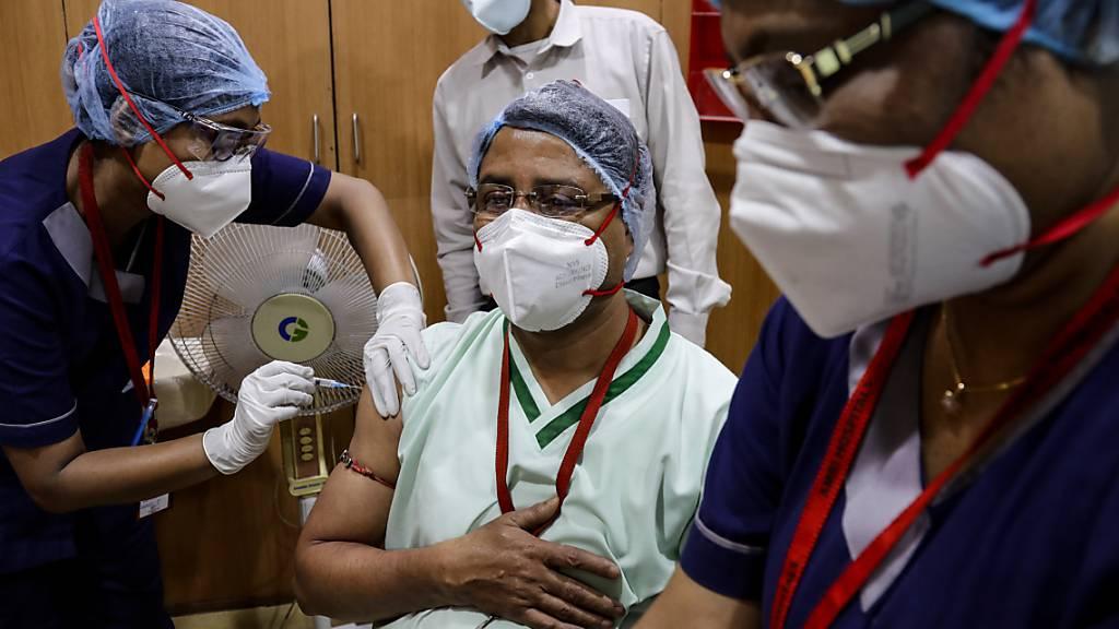 Indien beginnt Corona-Impfungen - Modi: Grösste Kampagne der Welt