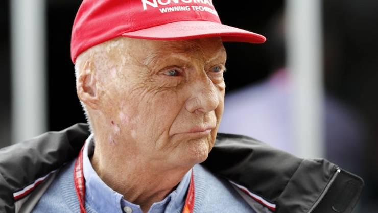 Niki Lauda konnte das Spital verlassen