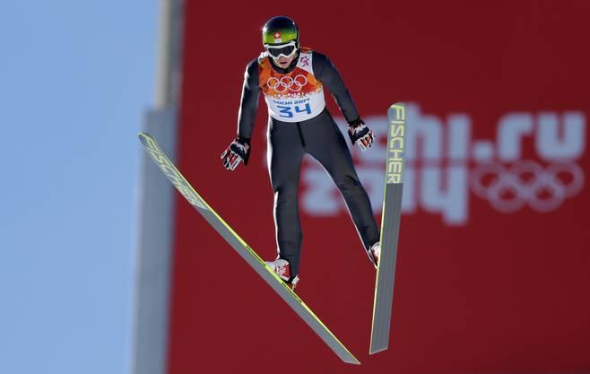 Der Solothurner sprang von der Normalschanze nur auf 91,5 Meter.