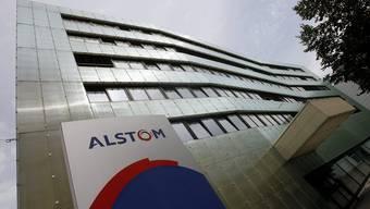 Die Alstom-Schweiz Zentrale in Baden.