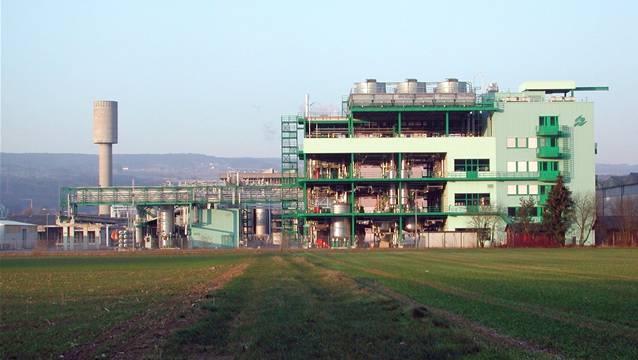 Das BASF-Werk in Kaisten. chr/archiv
