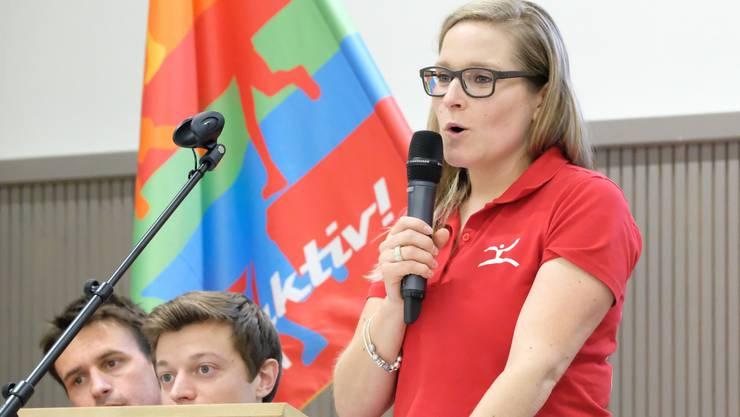 Präsidentin Rosmarie Strähl freut sich über eine positive Jahresbilanz