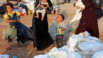 Syrische Flüchtlinge in der türkischen Provinz Hatay (Archiv)