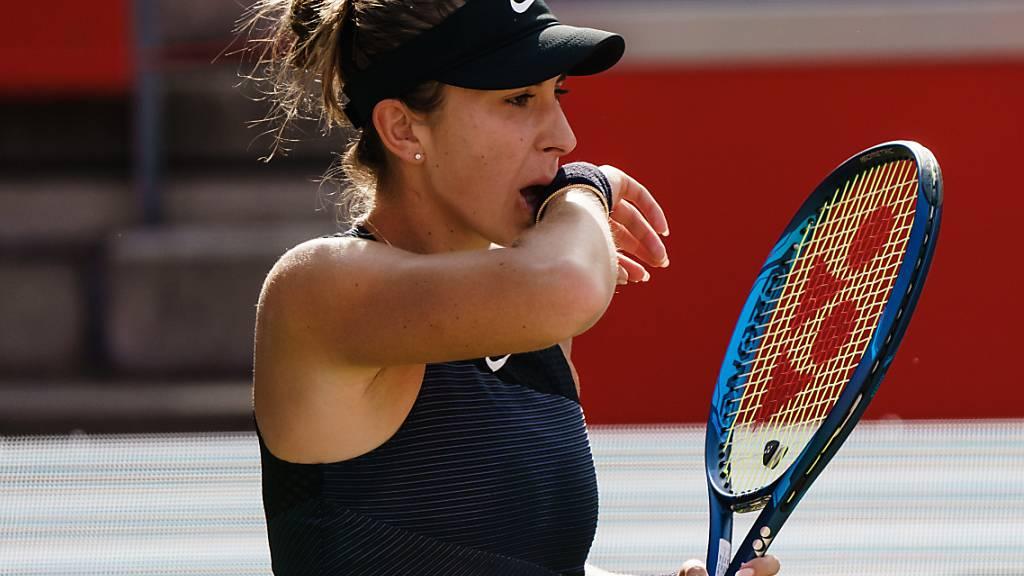 Belinda Bencic startet bei ihrer Olympia-Premiere gegen die Amerikanerin Jessica Pegula ins Turnier