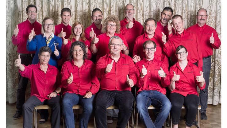 Das Organisationskomitee freut sich auf die Ausrichtung des Aargauischen Musiktages in Wittnau. ZVG