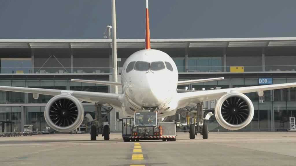A220-Flotte der Swiss fliegt wieder