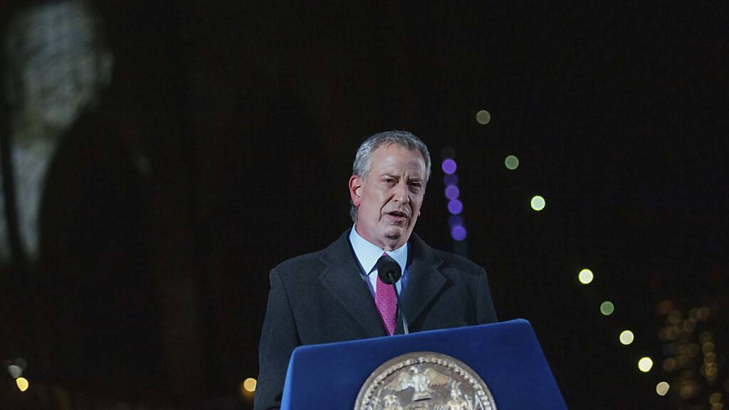 Gedenken an über 30'000 Corona-Tote in New York