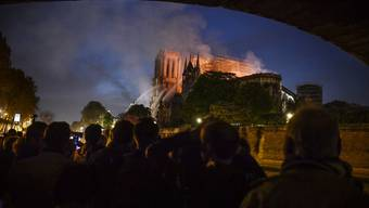 Vor einem Jahr stand die Notre-Dame-Kathedrale in Flammen.