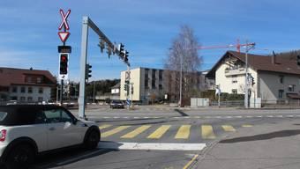 Die Barrierenanlage in Unterentfelden ist bei Autofahrern nicht beliebt.