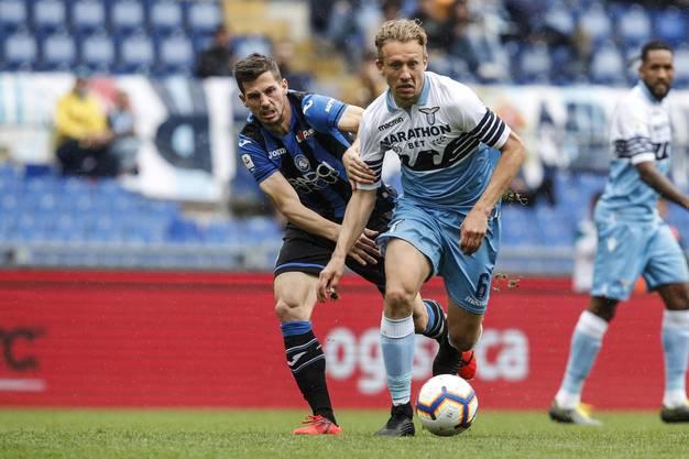 Nati-Spiel Remo Freuler lieferte sich in Diensten von Atalanta Bergamo einen aufopferungsvollen Kampf mit Lazio. In der ersten Halbzeit hatten die Norditaliener sogar leichte Vorteile