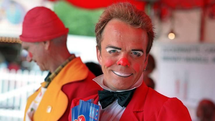 Spidi – der charismatische Clown und Programmverkäufer des Zirkus Knie ist gestorben.