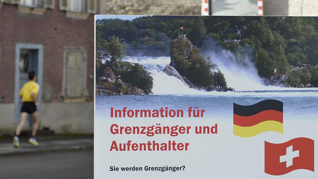 Deutsche wandern am liebsten in die Schweiz aus