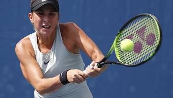 Belinda Bencic musste kämpfen, um die Niederlage gegen eine Aussenseiterin abzuwenden