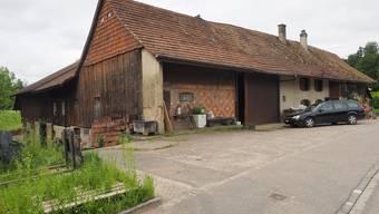 Auf diesem Bauernhof in Boningen mussten die Kühe gerettet werden.