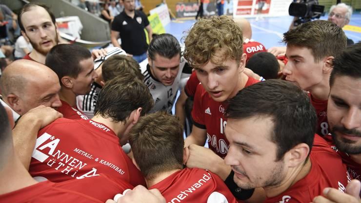 Die Spieler des HSC Suhr Aarau unterstützen ihren Verein in der Coronakrise mit einem «substanziellen» Lohnverzicht.