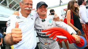 Überlegener Heimsieg in Hockenheim für WM-Leader Rosberg