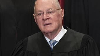US-Richter Anthony Kennedy geht in den Ruhestand. (Archivbild)