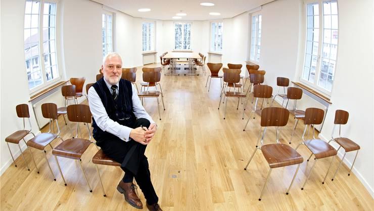 Peter Probst hat die Zentralbibliothek seit 1974 mit geprägt. (Archivbild)
