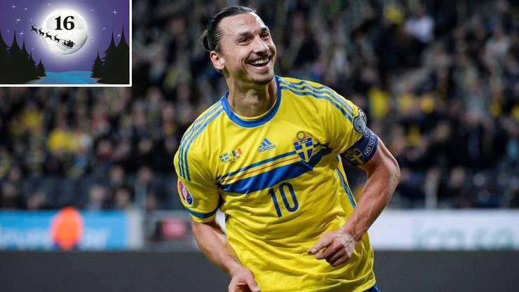 Zlatan Ibrahimovic ist der grosse Star der Schweden.