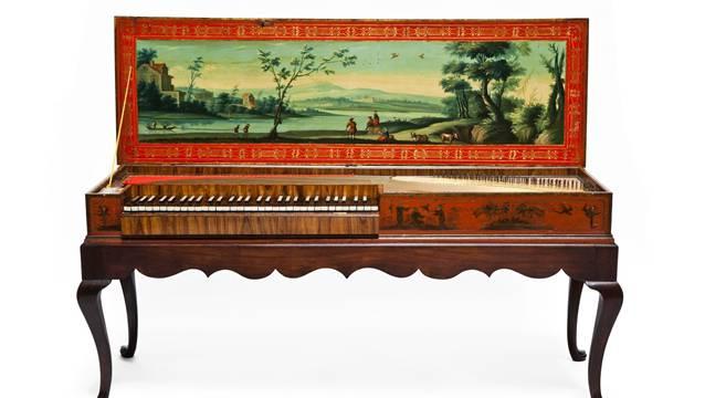 Dieses Clavichord klingt nicht nur gut, es sieht auch ausgesprochen schmuck aus.